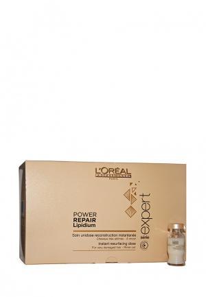 Мгновенный смываемый уход LOreal Professional L'Oreal. Цвет: коричневый