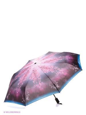 Зонт RAINDROPS. Цвет: лиловый