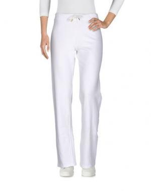Повседневные брюки CHARLOTT. Цвет: белый
