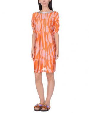 Пляжное платье MISSONI MARE. Цвет: оранжевый