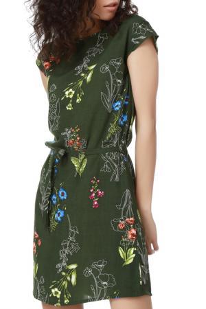 Платье Dewberry. Цвет: khaki