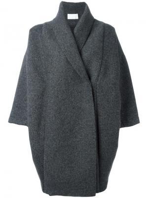 Пальто Xiong Reality Studio. Цвет: серый