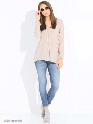 Блуза Rosa&Friends. Цвет: розовый