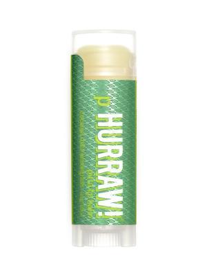 Бальзам для губ Hurraw! Pitta Lip Balm. Цвет: зеленый