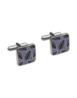 Запонки и зажимы для галстука MON ART. Цвет: небесно-голубой