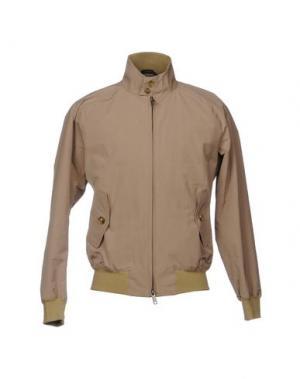 Куртка BARACUTA. Цвет: песочный