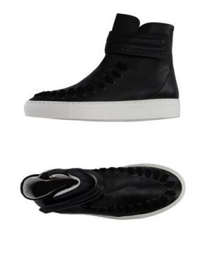 Высокие кеды и кроссовки SWEAR-LONDON. Цвет: черный