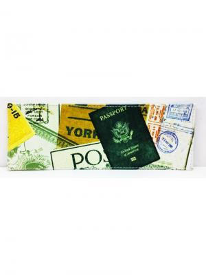 Оболжка для студенческого билета PORTE. Цвет: бежевый
