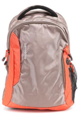 Компьютерная сумка Samsonite. Цвет: коричневый