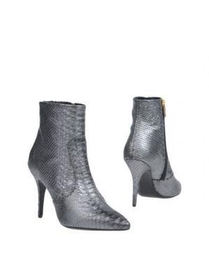 Полусапоги и высокие ботинки ATELIER MERCADAL. Цвет: свинцово-серый