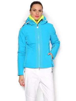 Куртка EA7. Цвет: голубой