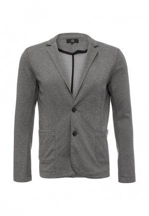 Пиджак oodji. Цвет: серый