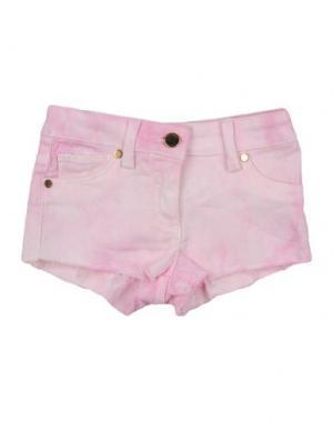 Джинсовые шорты SO TWEE by MISS GRANT. Цвет: розовый