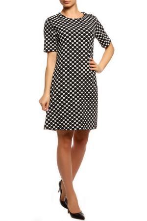 Платье BE…TWEEN. Цвет: черный, белый