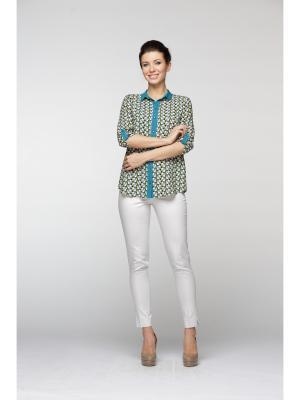 Блуза Maria Velada. Цвет: зеленый