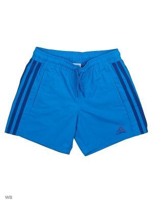 Плавательные шорты дет. спорт. Y 3SCL SH ML  SHOBLU/CROYAL Adidas. Цвет: синий