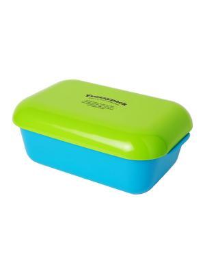 Фроззипак контейнер с охлаждающим элементом Lurch. Цвет: голубой