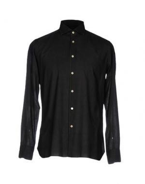Pубашка DELLA CIANA. Цвет: свинцово-серый