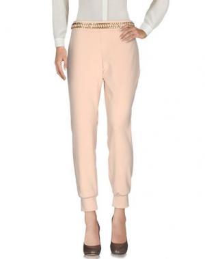 Повседневные брюки ELISABETTA FRANCHI. Цвет: песочный