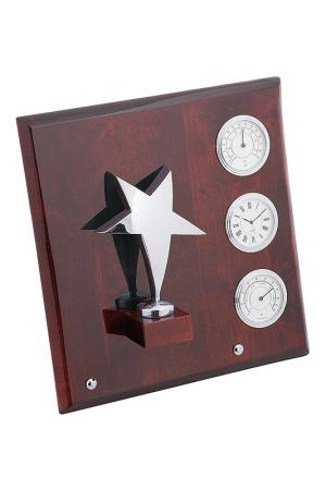 Плакетка Звезда Linea del Tempo. Цвет: коричневый