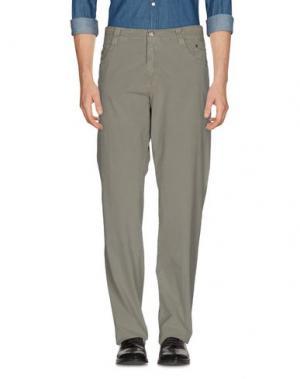 Повседневные брюки CARLO CHIONNA. Цвет: серый