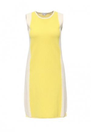 Платье Escada Sport. Цвет: желтый