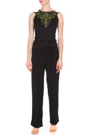 Комплект с брюками Relax Mode. Цвет: черный