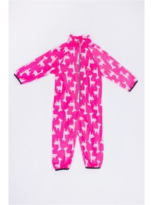 Комбинезон Зоопарк: Жираф ЛисФлис. Цвет: розовый