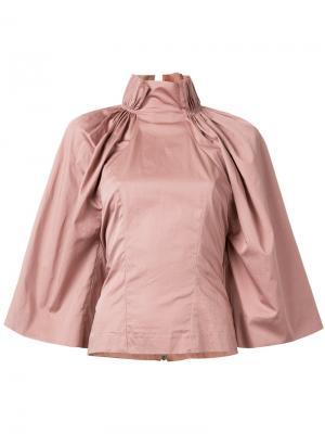Рубашка Elizabeth Bianca Spender. Цвет: телесный