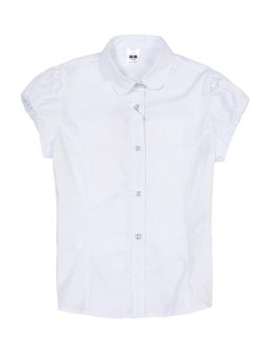 Блузка M-BABY. Цвет: белый