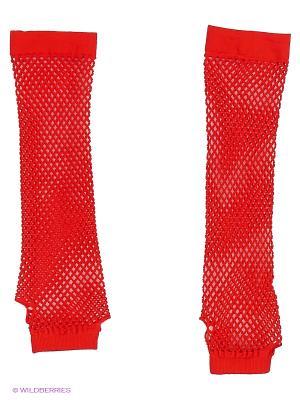 Перчатки Electric Lingerie. Цвет: красный