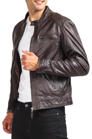 Куртка Woodland. Цвет: коричневый