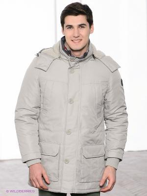 Куртка Navigare. Цвет: светло-серый