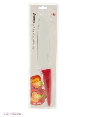 Поварской нож Frybest. Цвет: красный