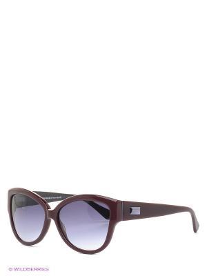 Солнцезащитные очки IS 11-270 37P Enni Marco. Цвет: темно-бордовый