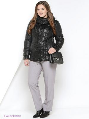 Куртка утепленная Socrat. Цвет: черный