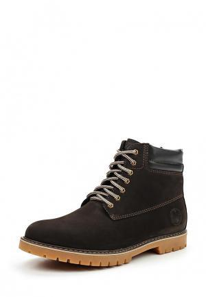 Ботинки Dino Ricci Trend. Цвет: коричневый