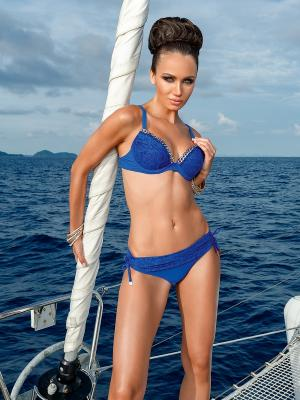 Купальник женский LORA GRIG. Цвет: синий
