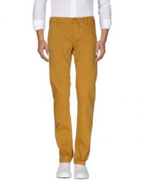 Джинсовые брюки LEE. Цвет: охра