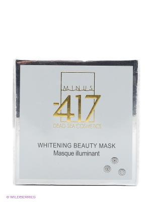 Отбеливающая маска White Diamond Minus 417. Цвет: прозрачный, белый