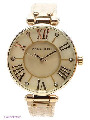 Часы ANNE KLEIN. Цвет: кремовый