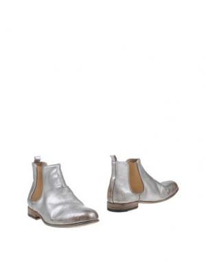 Полусапоги и высокие ботинки SARTORI GOLD. Цвет: серебристый