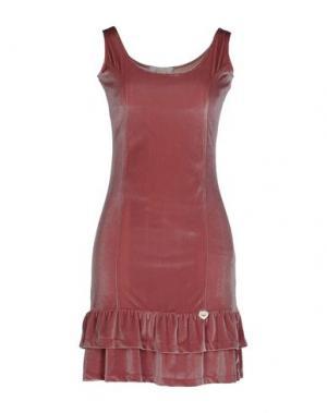 Короткое платье EAN 13. Цвет: телесный