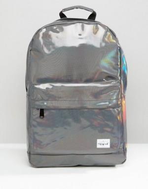 Spiral Серебристый рюкзак Rave. Цвет: серебряный
