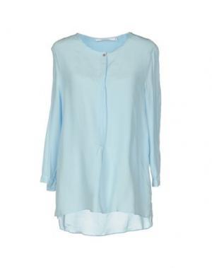 Блузка XANDRES. Цвет: небесно-голубой