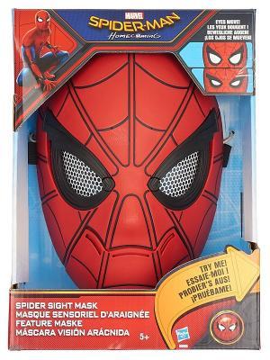 Карнавальная маска Spider-Man. Цвет: синий, красный