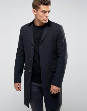 Jack Wills Тканое пальто. Цвет: черный