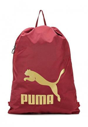 Мешок PUMA. Цвет: бордовый