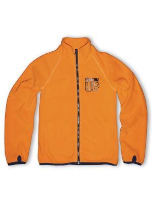 Толстовка Grow up. Цвет: оранжевый