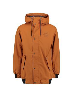 Куртка O'Neill. Цвет: коричневый